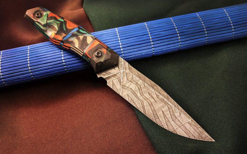 Нож Blackbird в парадном исполнении